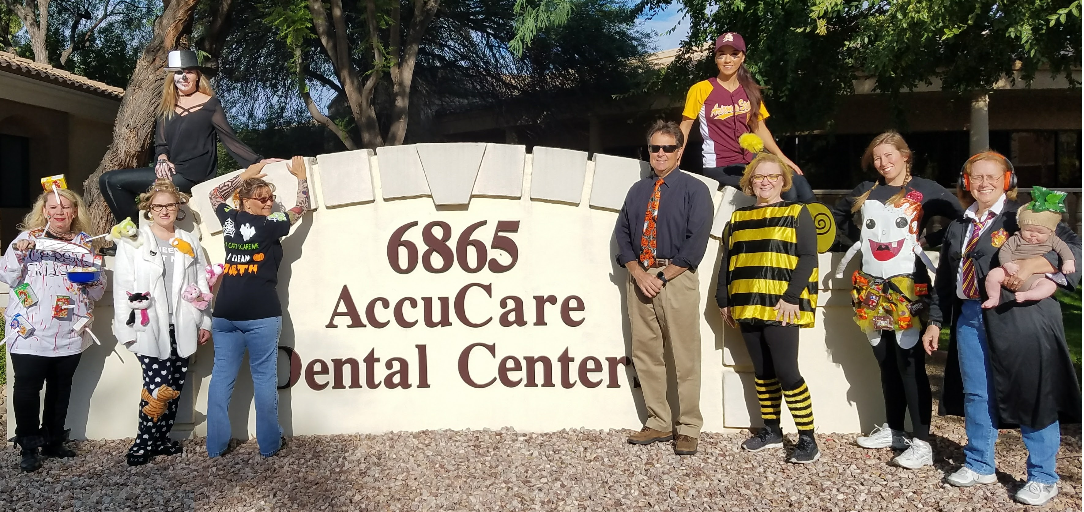 2017 AccuCare Halloween Photo